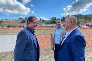Министър Христо Бозуков посети днес Калофер.