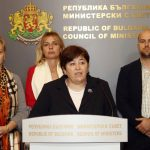 Министър Стела Балтова след срещата с представителите на туристическия бранш.