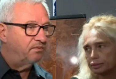 Адв. Йордан Давчев и съпругата му Калина