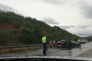 """Две коли се удариха на магистрала """"Тракия"""" в посока Пловдив"""