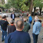 """Общински съветници от """"Кауза Пловдив"""" се срещнаха с живеещи на ул. """"Данаил Николаев"""""""