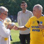 Христо Стоичков подари златна топка на Христо Христов