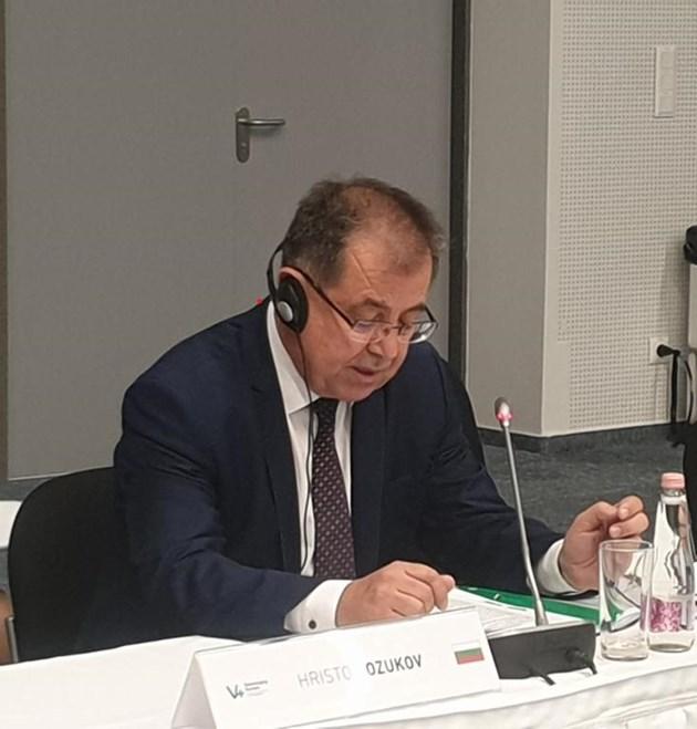 Проф. Христо Бозуков, министър на земеделието
