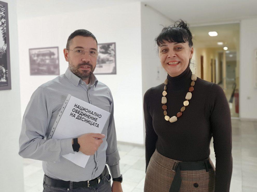Пепа Деведжиева Ивайло Спасов регистрираха листата в Пловдив