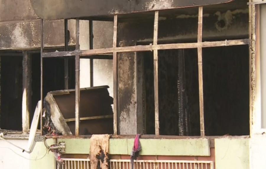 Пожарът в апартамента, където загинаха две деца