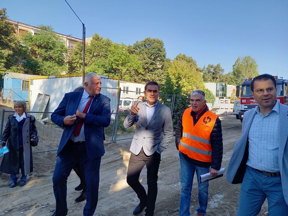 Строителството в Пловдив ще продължи със средствата от новия заем.